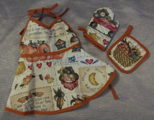 Load image into Gallery viewer, Fall Harvest Apron Set