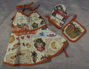 Fall Harvest Apron Set