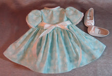 Load image into Gallery viewer, Pale Blue Butterfly Dress