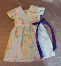 Load image into Gallery viewer, Unicorn Wrap Dress