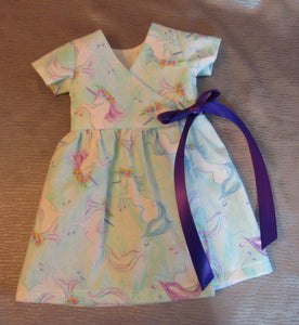 Unicorn Wrap Dress