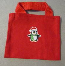Load image into Gallery viewer, Red Christmas Tote Bag