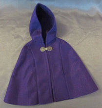Load image into Gallery viewer, Purple Felt Cape