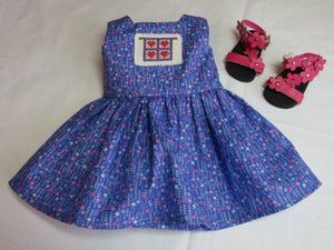 Quilt Embroidered Dress