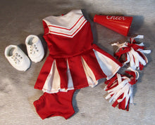 Load image into Gallery viewer, Red Cheer Outfit