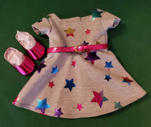 Load image into Gallery viewer, Shiny Star Swing Dress