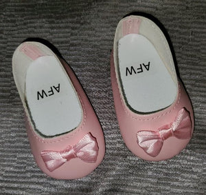 Dress Shoes with Satin Bow