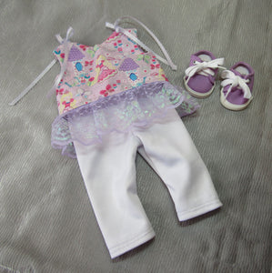 Sparkle Princess Sun Top & Leggings