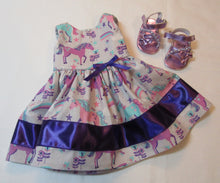 Load image into Gallery viewer, Silver Unicorn Dress