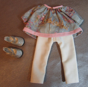 Wellie Wisher Christmas Top and Pants