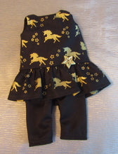 Load image into Gallery viewer, Wellie Wisher Unicorn Top and 3/4 Leggings