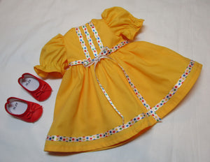 Bright Yellow Star Dress