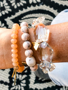 Beljoy Peachy Crystal Stack