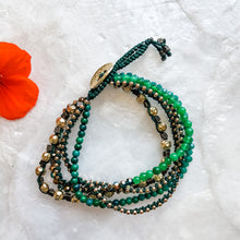 Load image into Gallery viewer, Macrame and Beaded Bracelet