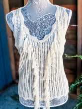 Load image into Gallery viewer, Boho Fringe Tank