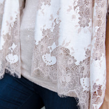 Load image into Gallery viewer, Vivie Lace Kimono