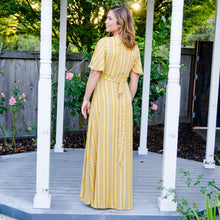 Load image into Gallery viewer, Mustard Maxi Dress