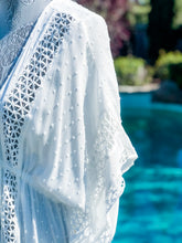 Load image into Gallery viewer, White Crochet Cover-Up