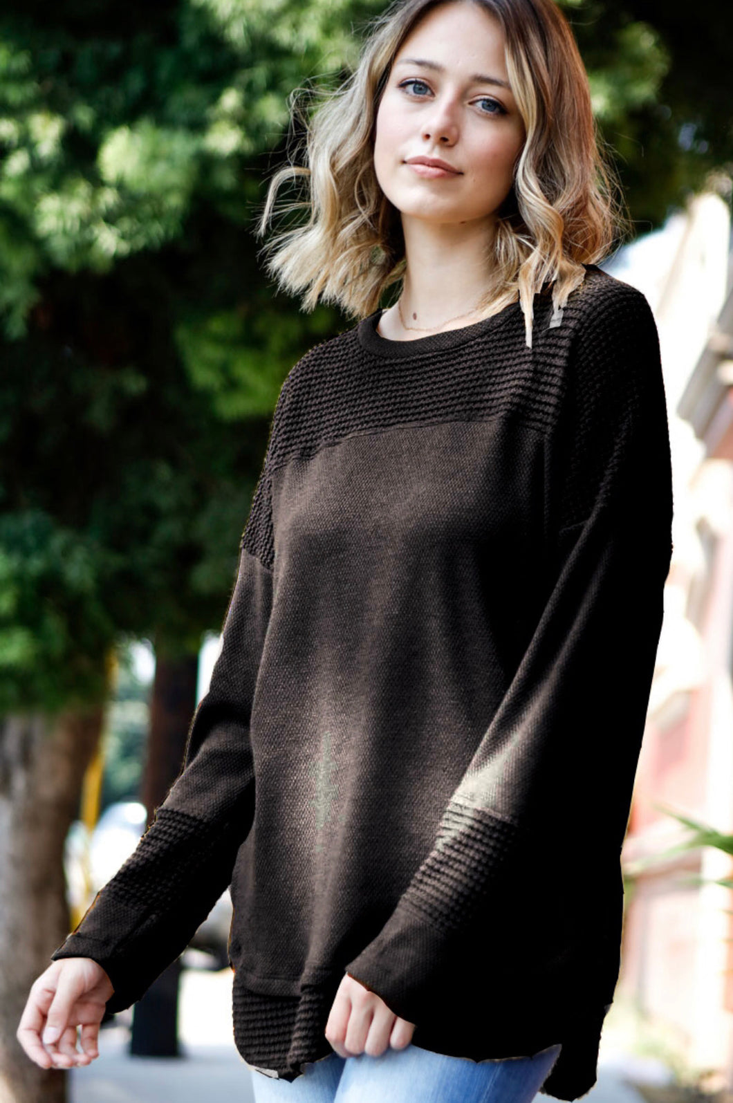 My Story Black Thermal Top