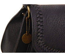 Load image into Gallery viewer, Ampere Black Braided Detail Bag