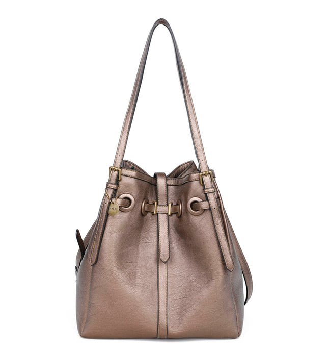 Ampere Large Bronze Bag