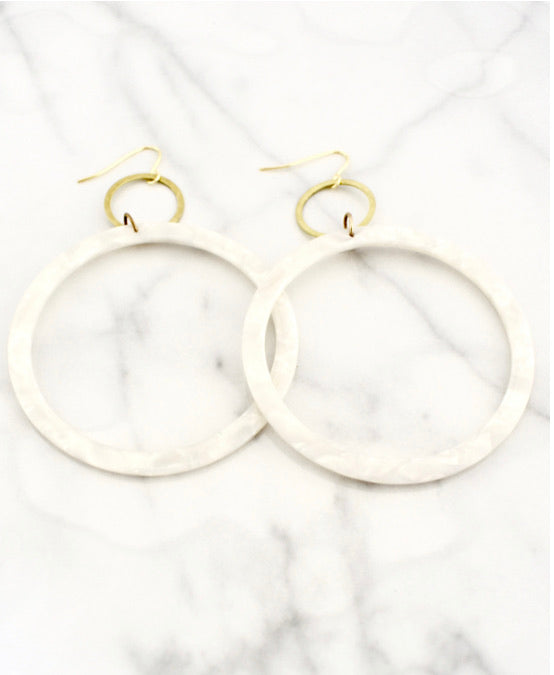 Eliza Hoop Earrings