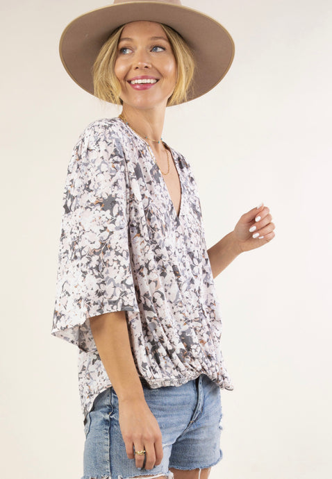 Lovestitch Relaxed Fit Floral Top