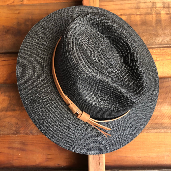 Casual Woven Straw Panama Hat