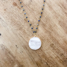 Load image into Gallery viewer, Mesa Blue Quartz Lapis Lazuli Necklace