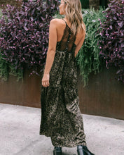 Load image into Gallery viewer, Lovestitch Animal Print Slip Dress