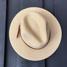 Load image into Gallery viewer, Casual Woven Straw Panama Hat
