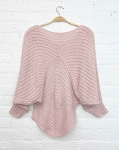 Load image into Gallery viewer, Pink Kimono Sleeve Sweater