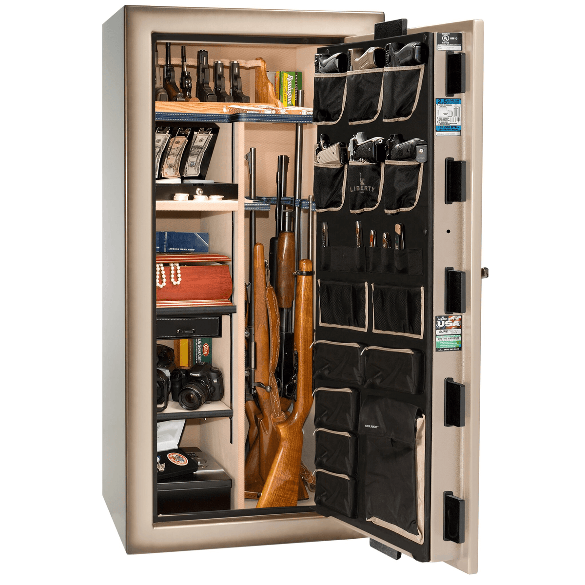 "Magnum Series | Level 8 Security | 2.5 Hours Fire Protection | 40 | Dimensions: 66.5""(H) x 36""(W) x 32""(D) 