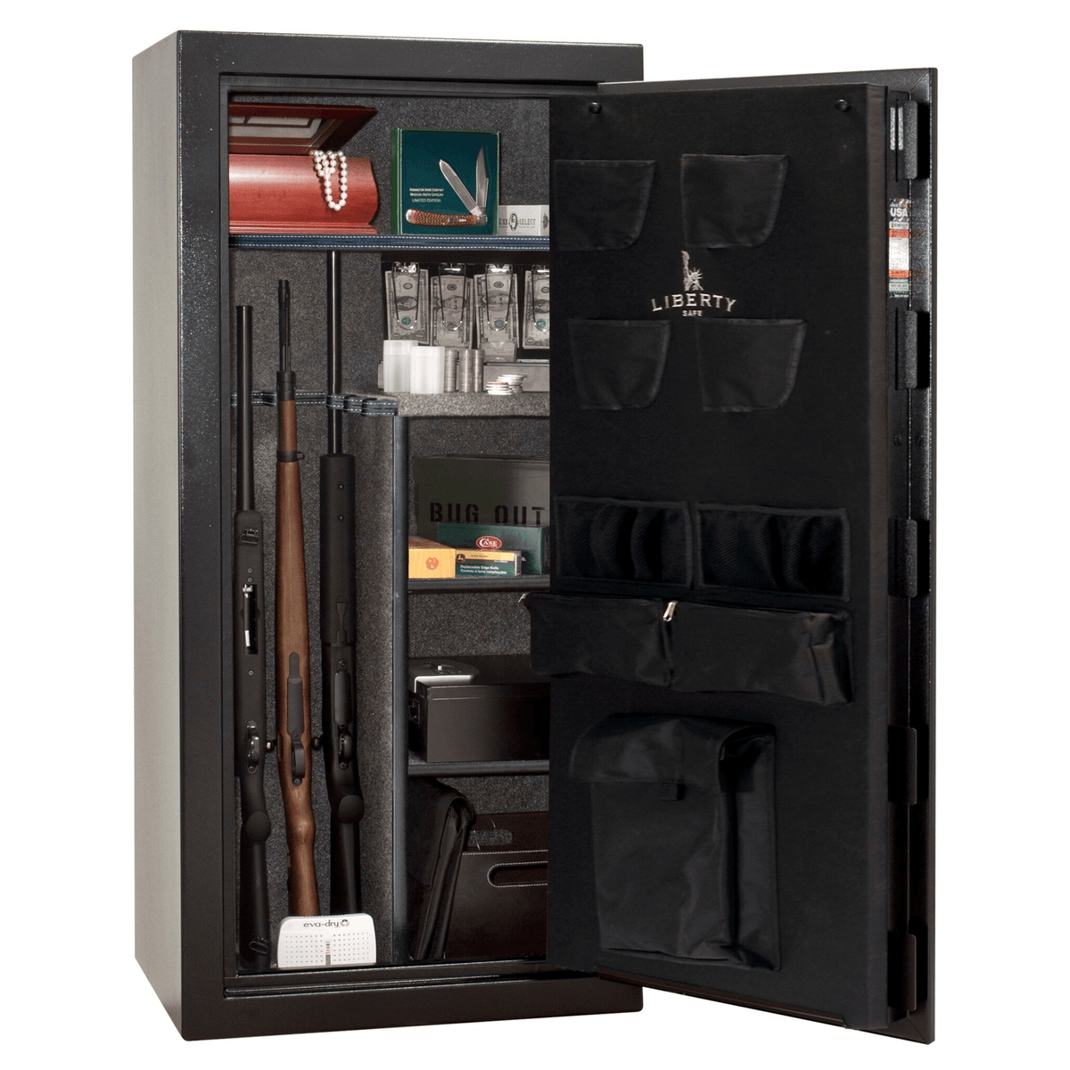 Liberty Safe Centurion 24 Textured Black Mechanical Lock Deluxe