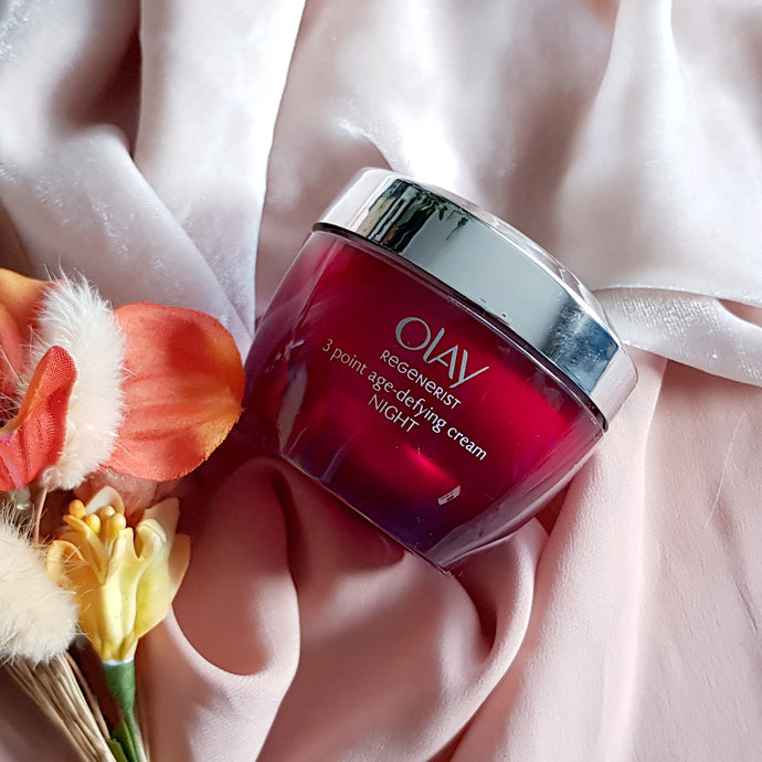 Beauty Review: OLAY Regenerist 3 point firming anti-ageing night cream