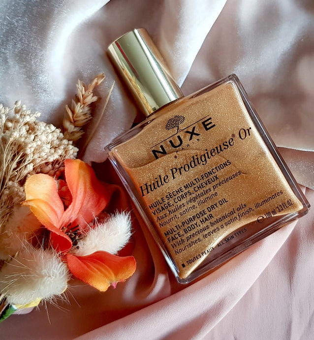 Beauty Review: Nuxe Shimmering Dry Oil Huile Prodigieuse®