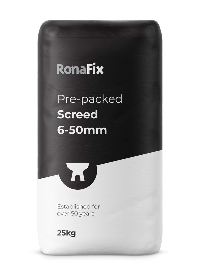 Ronafix Pre-packed Screed 6-50mm
