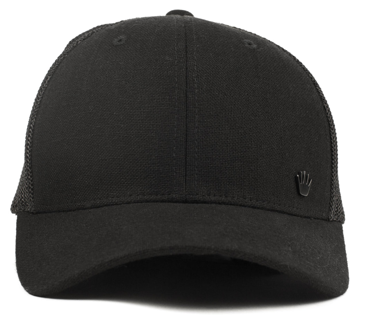 No Bad Ideas Flexfit Cap Walton Mesh (Black/Black)