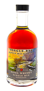 "EIFEL WHISKY Reserve EINZELFASS SINGLE RYE ""Malaga Cask"" (2013) 350 ML - 46%VA"