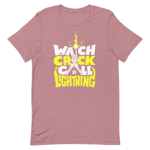 Watch a Crick Call Lightning Tee