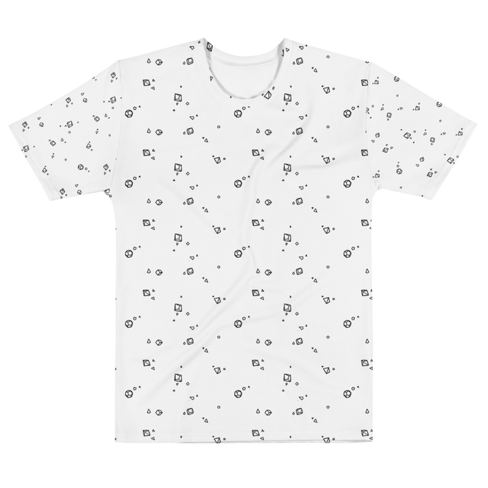 Dice Pattern All-Over Tee