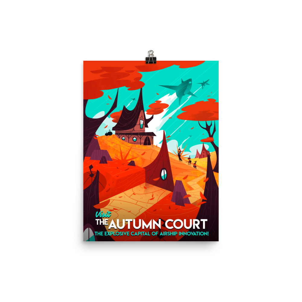 The Autumn Court Poster