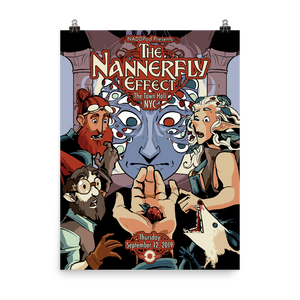 New York City Nannerfly Effect Tour Poster