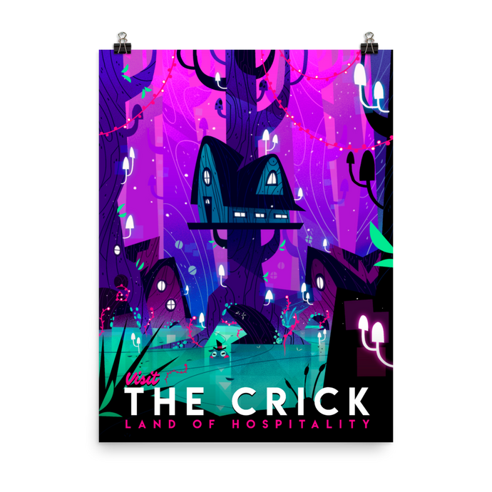 The Crick Poster