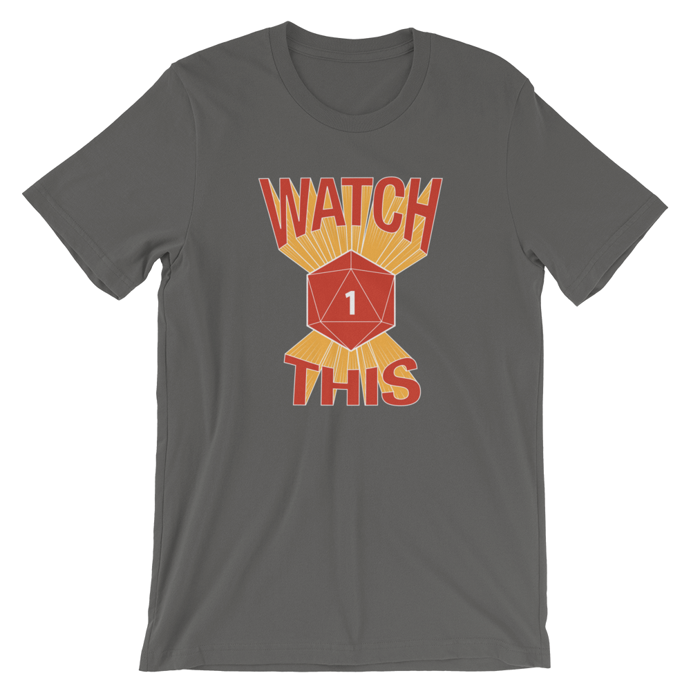 Watch This Tee (Grey)