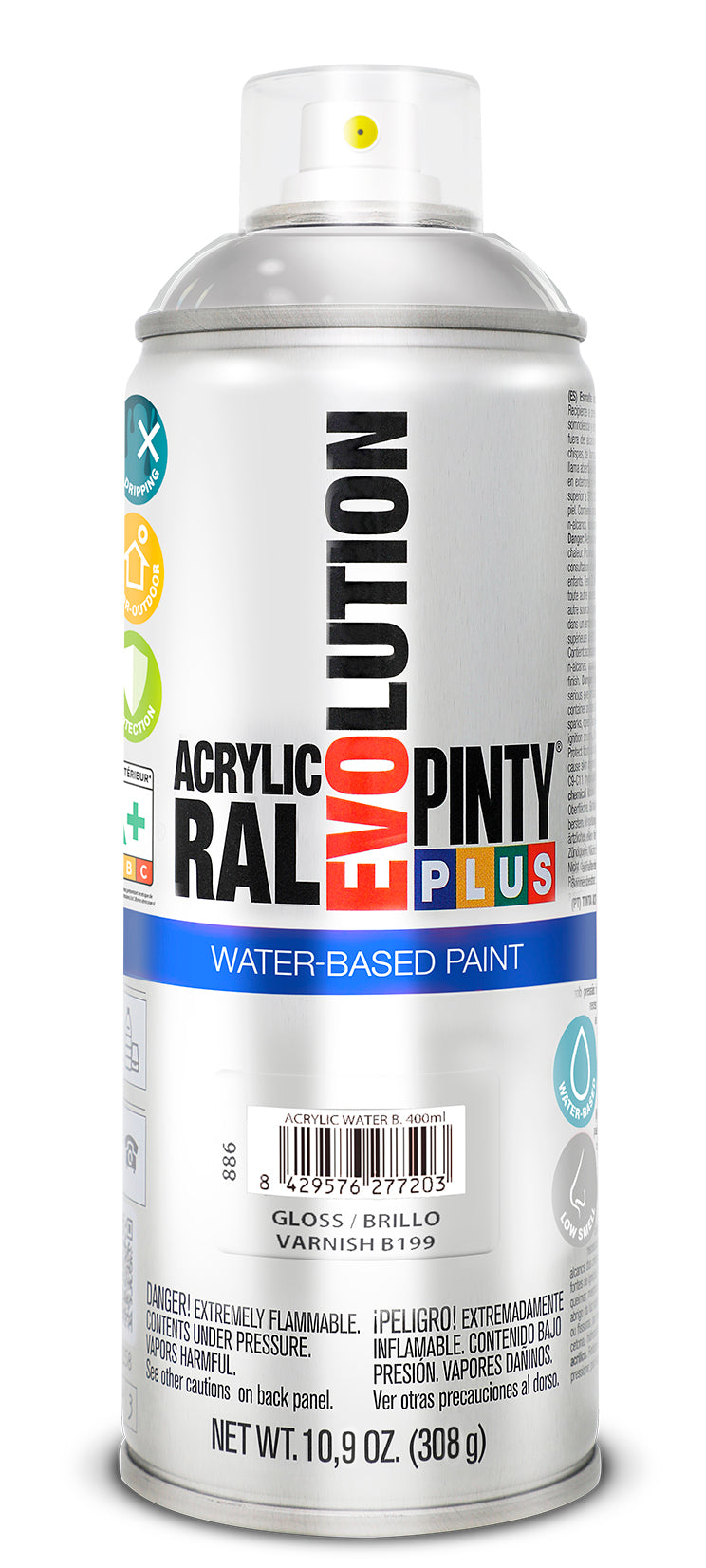 BARNIZ PINTYPLUS EVOLUTION WATER-BASED 400ML