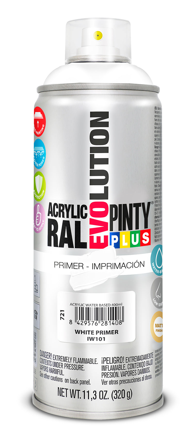 IMPRIMACIÓN PINTYPLUS EVOLUTION WATER-BASED 400ML