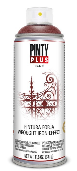 PINTURA FORJA EN SPRAY PINTYPLUS TECH 400ML