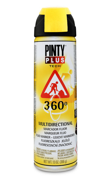 MARCADOR TOPOGRAFICO EN SPRAY PINTYPLUS TECH 500ML