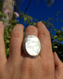 Mother of Pearl Shore Ring